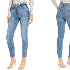 DL1961 Farrow High Waist Skinny Jeans
